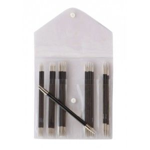 Double Pointed Needle Set Karbonz 15 cm