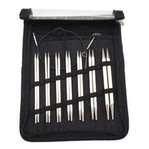 Nova Cubics Interchangeable Circular Needles Deluxe Set