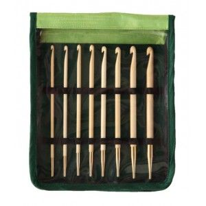 Knit Pro Bamboo Set de Ganchillos Tunecinos