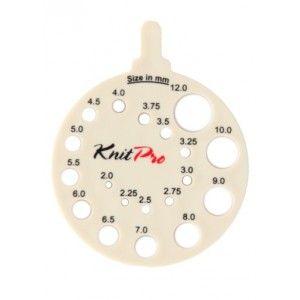 Calibre de Agujas Redondo Crema  Knit Pro