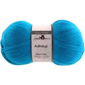 Admiral Unicolor Turquoise
