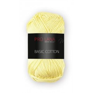 Pro Lana Basic Cotton 21 - Mantequilla