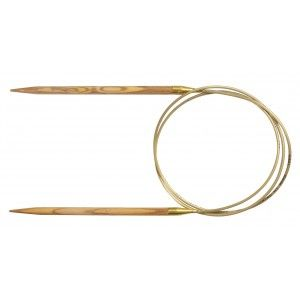 Addi Oliven  Fixed Circular Needles 100 cm - by Request