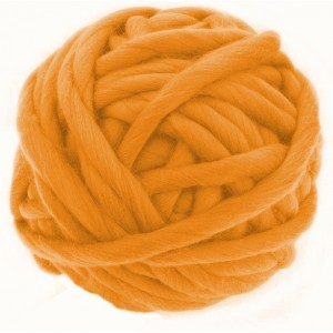Merino XXL Leucht Orange