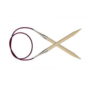 Agujas Circulares Fijas XL  Basix Birch 40 cm