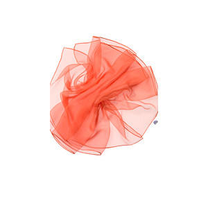 Fular de seda para Nuno de 180x55 naranja