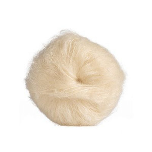 Mohair-yarn Bouclé - reddish brown