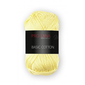 Pro Lana Basic Cotton 21 amarillo crema
