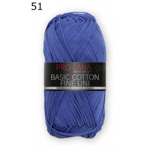 Pro Lana Basic Cotton 51 azul