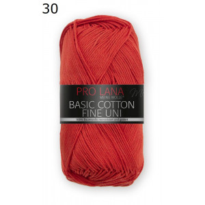Pro Lana Basic Cotton 30 rojo