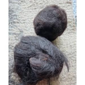 Lana de alpaca negro