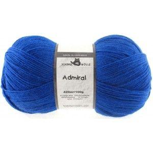 Admiral Unicolor Blau