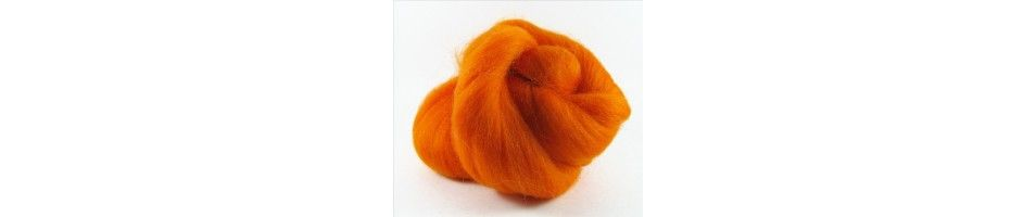 Fibers for felting and spinning